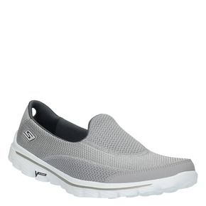 Slip-on sportive da donna skechers, grigio, 509-2708 - 13