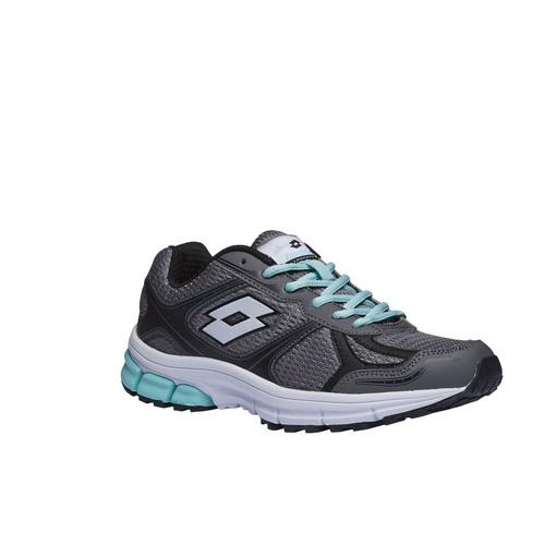 scarpa sportiva da donna lotto, grigio, 509-2296 - 13