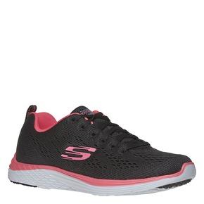 sneaker da donna skechers, nero, 509-6706 - 13