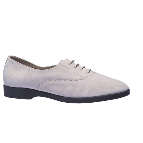 Scarpe basse di pelle flexible, grigio, 526-2156 - 13