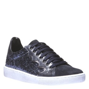 Sneakers in pelle con paillettes colorate north-star, viola, 543-9186 - 13