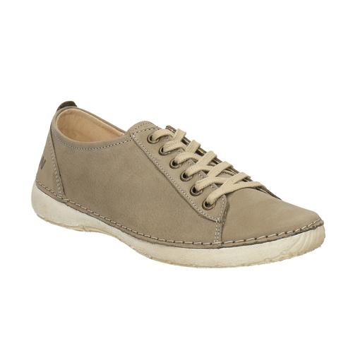 Sneakers comode in pelle weinbrenner, grigio, 544-2151 - 13