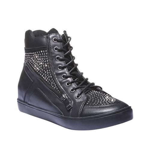 Sneakers alla caviglia north-star, nero, 541-6118 - 13