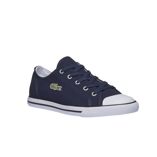 Sneakers in tessuto lacoste, viola, 589-9299 - 13