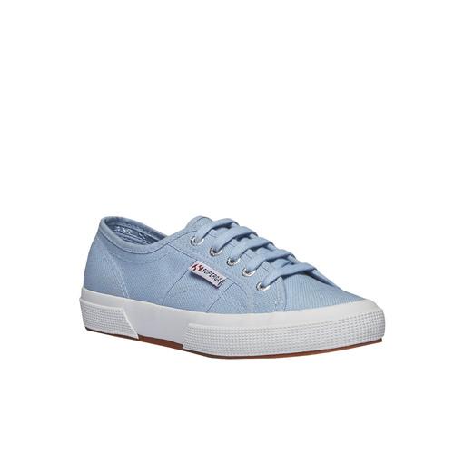 Sneakers in tessuto superga, viola, 589-9287 - 13