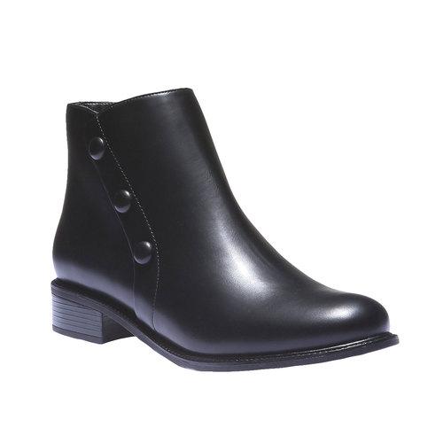 Scarpe da donna alla caviglia bata, nero, 591-6223 - 13