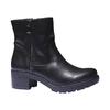 Scarpe da donna alla caviglia bata, nero, 691-6138 - 13