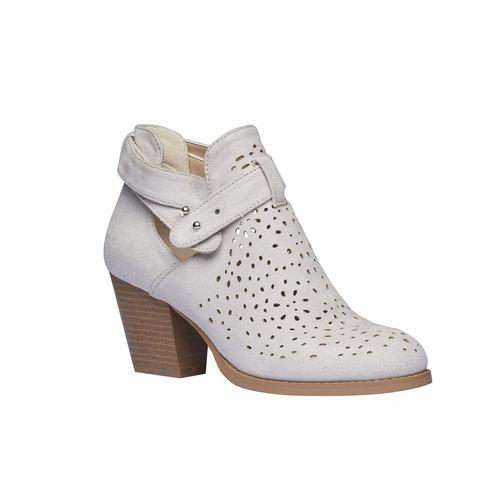 Stivaletti alla caviglia bata, bianco, 799-1627 - 13