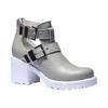 Scarpe da donna alla caviglia con suola massiccia bata, grigio, 794-2490 - 13