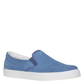 Slip-on con perforazioni north-star, blu, 833-9118 - 13