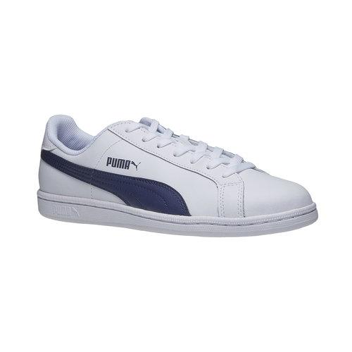 Sneakers bianche di pelle puma, bianco, 804-1151 - 13