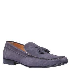 Mocassini da uomo in pelle shoemaker, viola, 813-9149 - 13