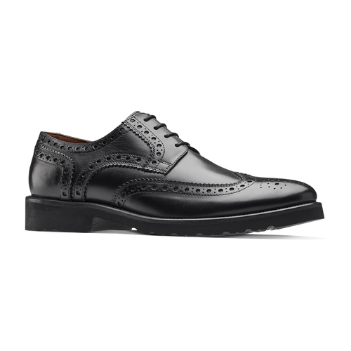 Argyll Brogue in Pelle bata-light, nero, 824-6399 - 13