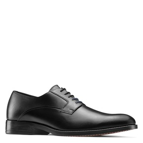 Scarpe basse di pelle in stile Derby bata, nero, 824-6874 - 13