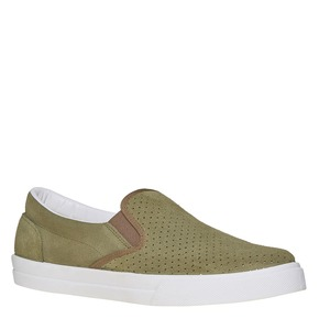Slip-on con perforazioni north-star, verde, 833-7118 - 13