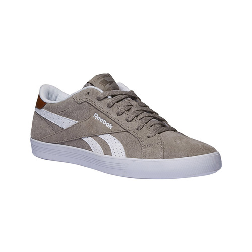 Sneakers da uomo in pelle reebok, grigio, 803-2130 - 13