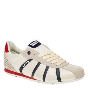 Sneakers informali da uomo levis, bianco, 841-1198 - 13