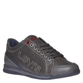 Sneakers di pelle levis, grigio, 841-2263 - 13