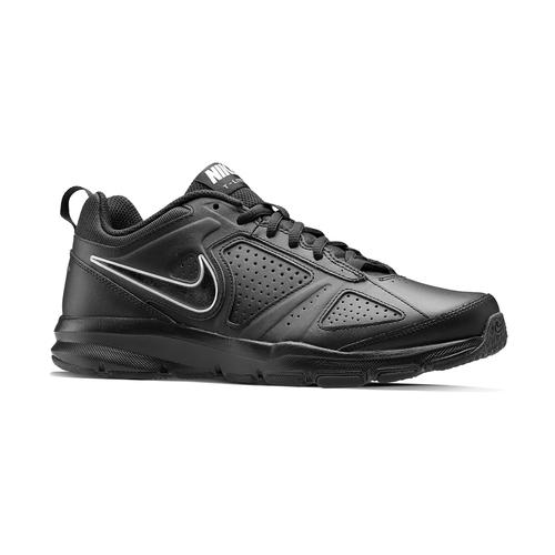 Sneakers sportive in pelle nike, nero, 804-6572 - 13