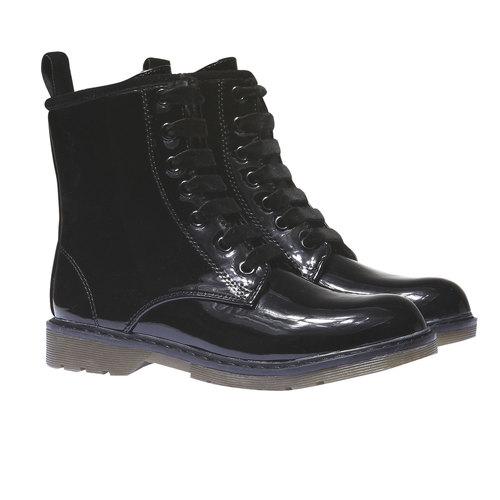 Scarpe alla caviglia con suola massiccia mini-b, nero, 391-6132 - 26