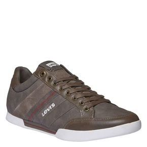 Sneakers di pelle levis, grigio, 844-2261 - 13