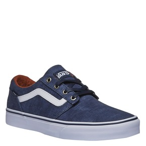 Sneakers da uomo con tomaia in denim vans, blu, 889-9204 - 13