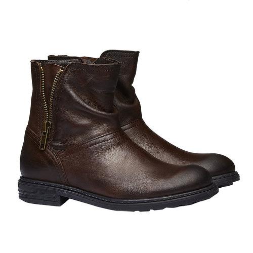 Scarpe bambini mini-b, marrone, 394-4232 - 26