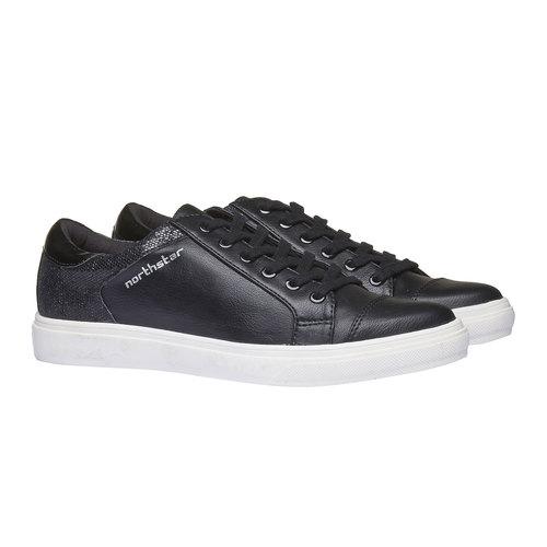 Sneakers da donna north-star, nero, 541-6253 - 26