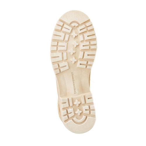 Scarpe di pelle alla caviglia weinbrenner, marrone, 594-4138 - 26