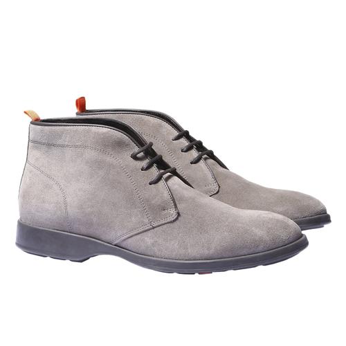 Scarpe alla caviglia in stile Chukka flexible, grigio, 893-2341 - 26