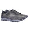 Sneakers di pelle bata, grigio, 843-2449 - 26