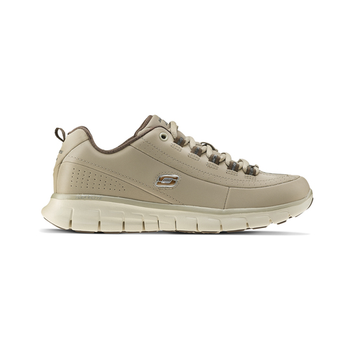 Sneakers da donna in pelle skechers, beige, 503-3323 - 26