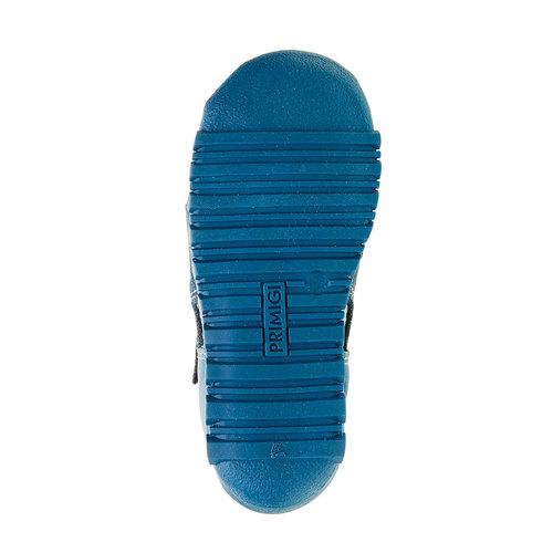 Sandali da ragazzo con chiusura a velcro primigi, blu, 111-9139 - 26