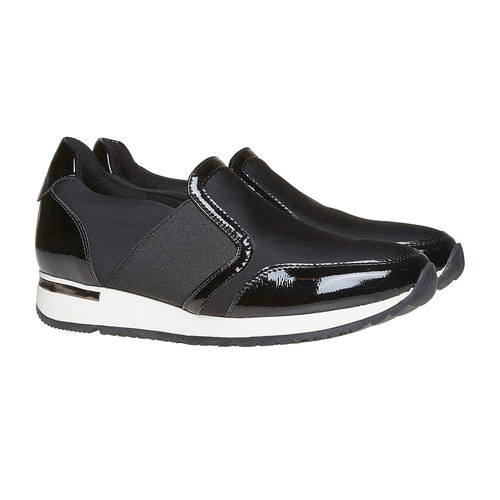 Sneakers da donna north-star, nero, 541-6267 - 26