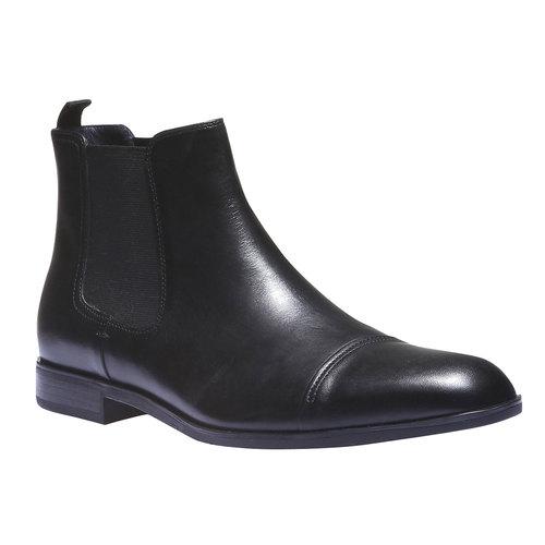Scarpe di pelle Chelsea bata, nero, 894-6214 - 13