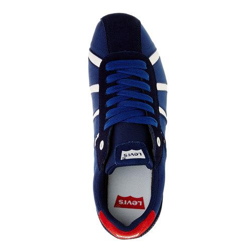 Sneakers informali da uomo levis, blu, 841-9198 - 19
