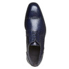 Scarpe basse in pelle di colore blu bata-the-shoemaker, blu, 824-9192 - 19