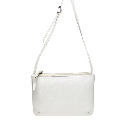 borsa in pelle da donna bata, bianco, 964-8174 - 17