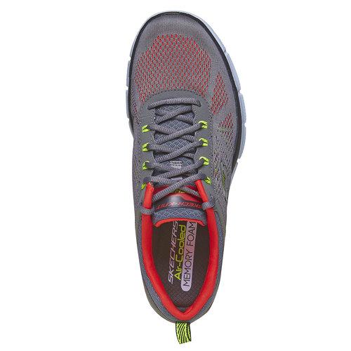 Sneakers sportive da uomo skechers, grigio, 809-2998 - 19
