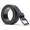 Cintura in pelle bata, blu, 953-9106 - 26