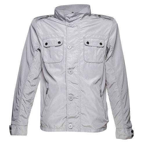 Giacca da uomo con bottoni bata, grigio, 979-2566 - 13
