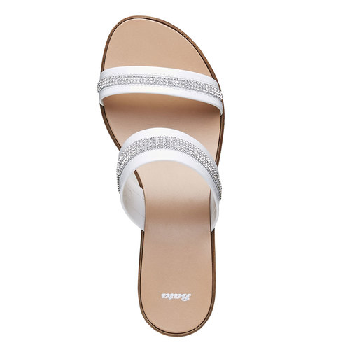 Slip-on da donna bata, bianco, 671-1111 - 19