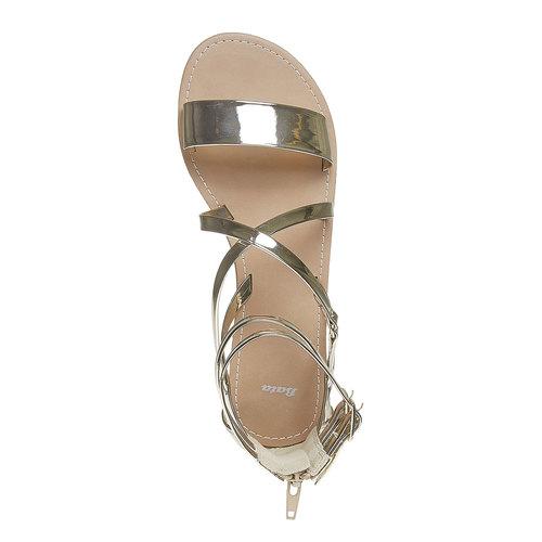 Sandali donna bata, oro, 561-8132 - 19