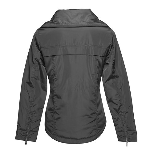 Giacca da donna con colletto grande bata, nero, 979-6563 - 26