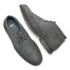 Scarpe uomo bata, grigio, 843-2380 - 19