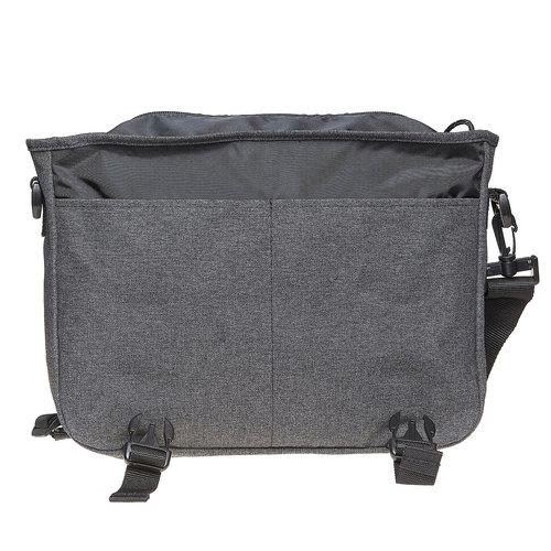 Borsa a tracolla in tessuto eastpack, grigio, 999-6651 - 19