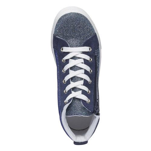 Sneakers alla caviglia con riflessi metallici north-star-junior, viola, 329-9195 - 19