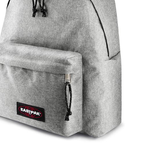 Zaino in tessuto di colore grigio eastpack, grigio, 999-2747 - 15