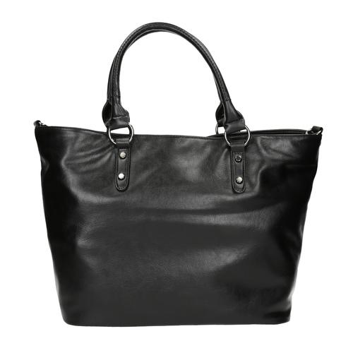 Borsetta nera da donna bata, nero, 961-6857 - 19