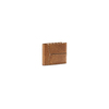 Portafoglio da uomo in pelle con cuciture bata, marrone, 944-3146 - 13